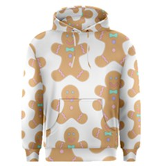 Pattern Christmas Biscuits Pastries Men s Pullover Hoodie