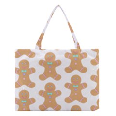 Pattern Christmas Biscuits Pastries Medium Tote Bag