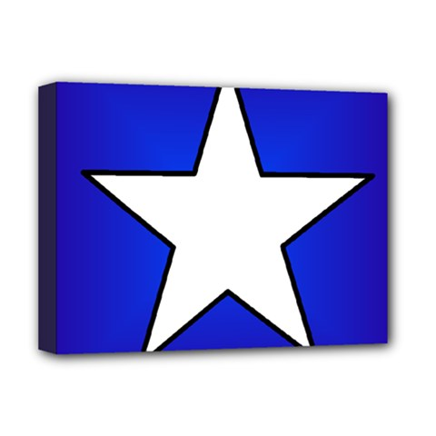 Star Background Tile Symbol Logo Deluxe Canvas 16  x 12
