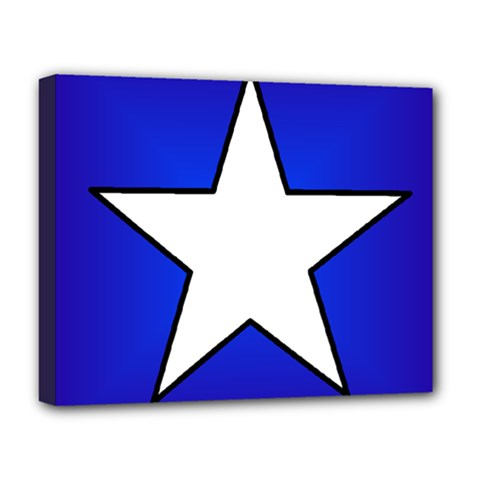 Star Background Tile Symbol Logo Deluxe Canvas 20  x 16