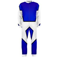 Star Background Tile Symbol Logo OnePiece Jumpsuit (Men)