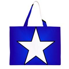 Star Background Tile Symbol Logo Large Tote Bag