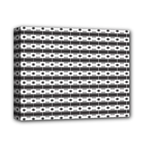 Pattern Background Texture Black Deluxe Canvas 14  x 11