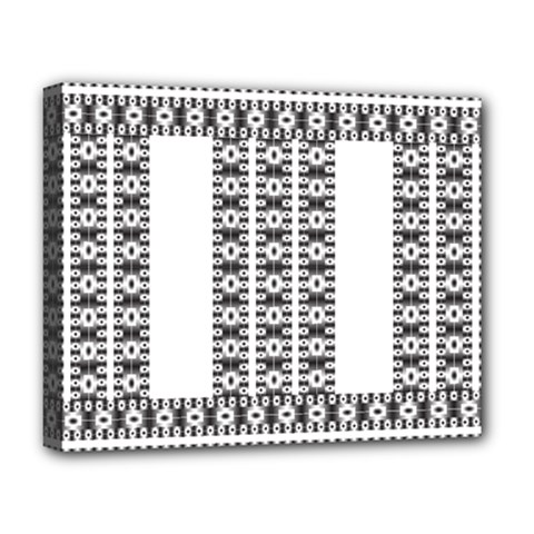 Pattern Background Texture Black Deluxe Canvas 20  x 16