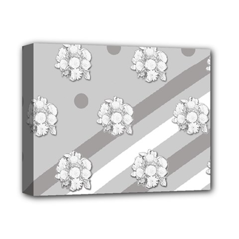 Stripes Pattern Background Design Deluxe Canvas 14  x 11