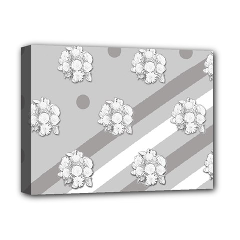 Stripes Pattern Background Design Deluxe Canvas 16  x 12
