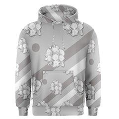 Stripes Pattern Background Design Men s Pullover Hoodie