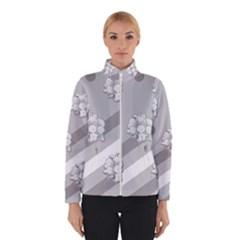 Stripes Pattern Background Design Winterwear