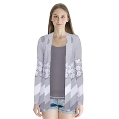 Stripes Pattern Background Design Cardigans