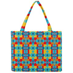 Pop Art Abstract Design Pattern Mini Tote Bag