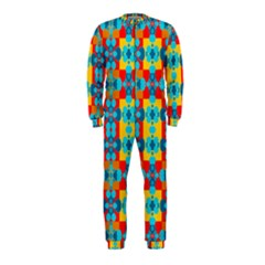 Pop Art Abstract Design Pattern OnePiece Jumpsuit (Kids)