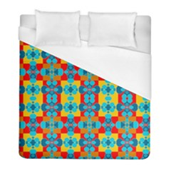Pop Art Abstract Design Pattern Duvet Cover (Full/ Double Size)