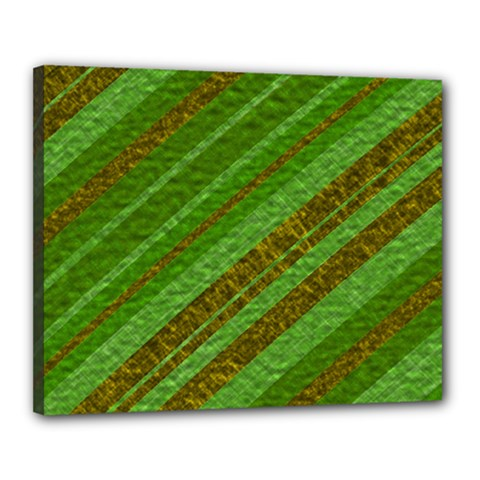 Stripes Course Texture Background Canvas 20  x 16