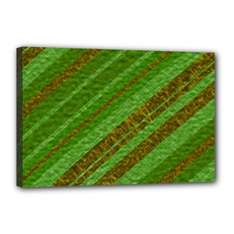 Stripes Course Texture Background Canvas 18  x 12