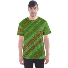 Stripes Course Texture Background Men s Sport Mesh Tee