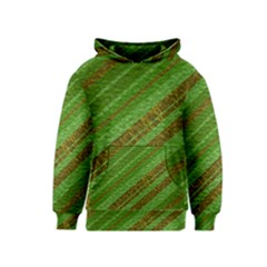 Stripes Course Texture Background Kids  Pullover Hoodie