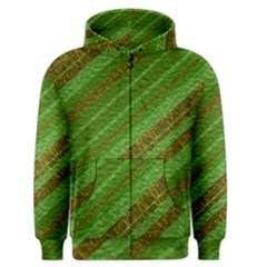 Stripes Course Texture Background Men s Zipper Hoodie