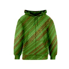 Stripes Course Texture Background Kids  Zipper Hoodie