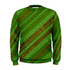 Stripes Course Texture Background Men s Sweatshirt
