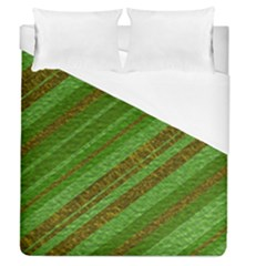 Stripes Course Texture Background Duvet Cover (Queen Size)