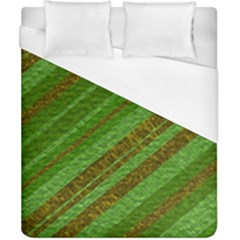 Stripes Course Texture Background Duvet Cover (California King Size)