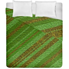 Stripes Course Texture Background Duvet Cover Double Side (California King Size)
