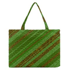 Stripes Course Texture Background Medium Zipper Tote Bag