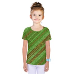 Stripes Course Texture Background Kids  One Piece Tee