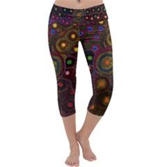 SDA1622 Capri Yoga Leggings