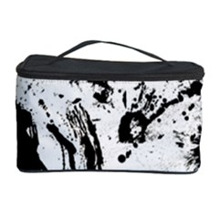 Pattern Color Painting Dab Black Cosmetic Storage Case