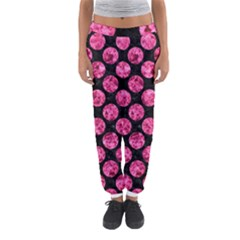 CIR2 BK-PK MARBLE Women s Jogger Sweatpants