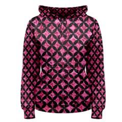 CIR3 BK-PK MARBLE (R) Women s Pullover Hoodie