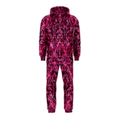 DMS1 BK-PK MARBLE (R) Hooded Jumpsuit (Kids)
