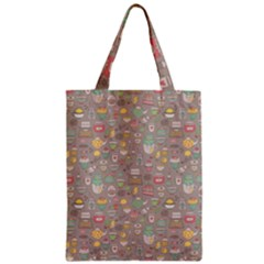 Tea Party Pattern Classic Tote Bag