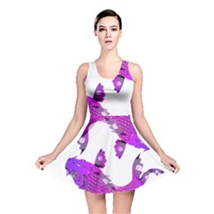 Koi Carp Fish Water Japanese Pond Reversible Skater Dress