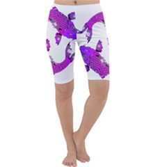 Koi Carp Fish Water Japanese Pond Cropped Leggings