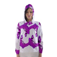 Koi Carp Fish Water Japanese Pond Hooded Wind Breaker (Women)