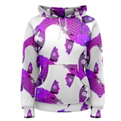 Koi Carp Fish Water Japanese Pond Women s Pullover Hoodie