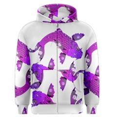 Koi Carp Fish Water Japanese Pond Men s Zipper Hoodie