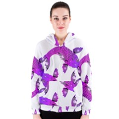 Koi Carp Fish Water Japanese Pond Women s Zipper Hoodie