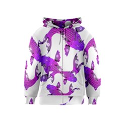 Koi Carp Fish Water Japanese Pond Kids  Zipper Hoodie