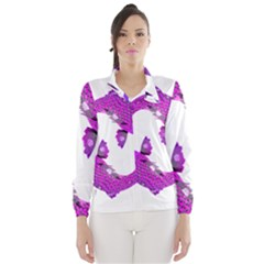 Koi Carp Fish Water Japanese Pond Wind Breaker (Women)