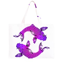Koi Carp Fish Water Japanese Pond Large Tote Bag