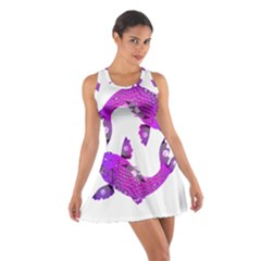 Koi Carp Fish Water Japanese Pond Cotton Racerback Dress