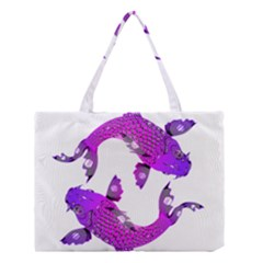 Koi Carp Fish Water Japanese Pond Medium Tote Bag