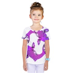 Koi Carp Fish Water Japanese Pond Kids  One Piece Tee
