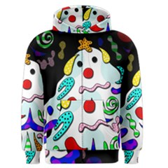 Candy man` Men s Zipper Hoodie