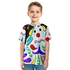 Candy man` Kids  Sport Mesh Tee