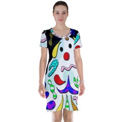 Candy man` Short Sleeve Nightdress