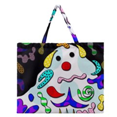 Candy man` Zipper Large Tote Bag